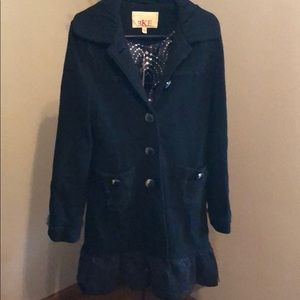 BKE Black Winter Coat